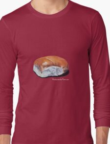 Handpainted bread roll Long Sleeve T-Shirt