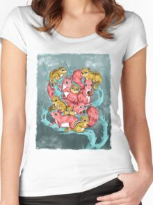 Frosty Fun Women's Fitted Scoop T-Shirt