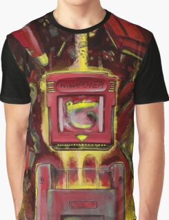 Pocket Power - RED VERSION Graphic T-Shirt