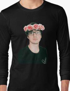 Joji Millier [Filthy Frank] Flower Crown Long Sleeve T-Shirt