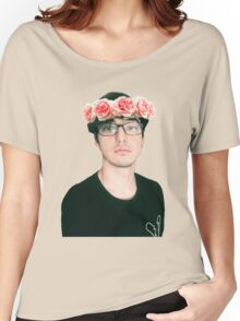 Joji Millier [Filthy Frank] Flower Crown Women's Relaxed Fit T-Shirt