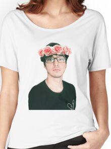 Joji Millier [Filthy Frank] Flower Crown Women's Relaxed Fit T-Shirt