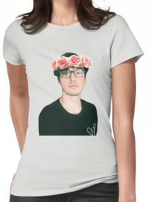 Joji Millier [Filthy Frank] Flower Crown Womens Fitted T-Shirt