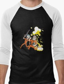 Rick Escape Men's Baseball ¾ T-Shirt