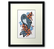 The Seal Framed Print