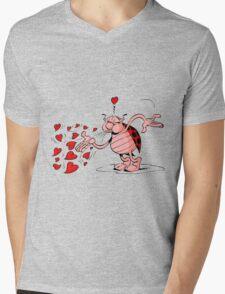 lady bug Mens V-Neck T-Shirt