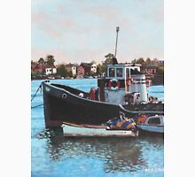 Old boats moored at St Denys Southampton T-Shirt
