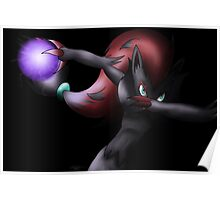 Zoroark - Shadow Ball Poster