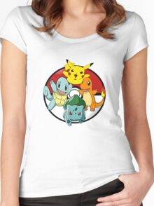 Pokemon Collections Women's Fitted Scoop T-Shirt