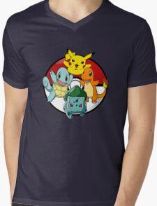 Pokemon Collections Mens V-Neck T-Shirt