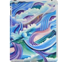 Once in a blue moon iPad Case/Skin