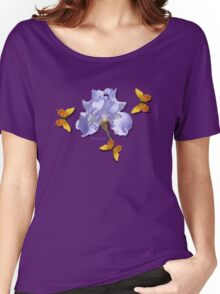Chambray Elegance ~ This Iris Women's Relaxed Fit T-Shirt