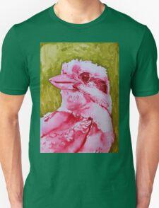 Kookaburra with Green Unisex T-Shirt