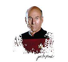 Star Trek Splatter Portrait - Archer Photographic Print