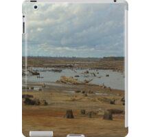 Dry lake bed iPad Case/Skin