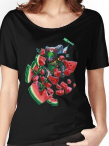 Watermelon SMASH Women's Relaxed Fit T-Shirt