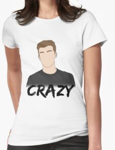 SM - Crazy Womens Fitted T-Shirt