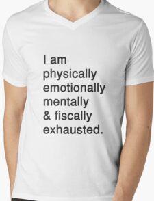 UGH, LIFE. Mens V-Neck T-Shirt