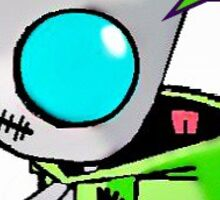 GIR from  Invader Zim Sticker