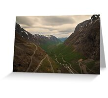 Trollstigen Greeting Card