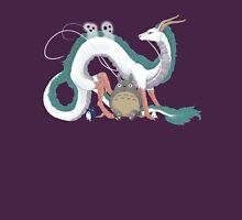 Haku, Totoro, and Tree Spirits  Unisex T-Shirt