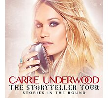 CARRIE UNDERWOOD THE STORYTELLER Photographic Print