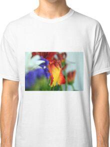Close up on flower petals. Classic T-Shirt