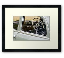 A Glimpse Of Elegance And An Old Ladies Soul Framed Print