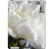 White flower macro. iPad Case/Skin