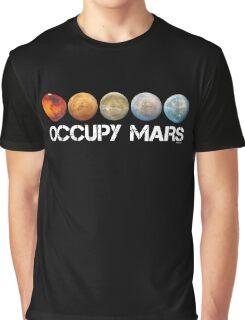 Occupy Mars Terraform Graphic T-Shirt