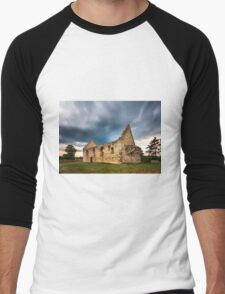 Romanesque church in Haluzice Men's Baseball ¾ T-Shirt