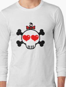 Girl Skull Long Sleeve T-Shirt