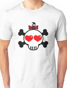 Girl Skull Unisex T-Shirt