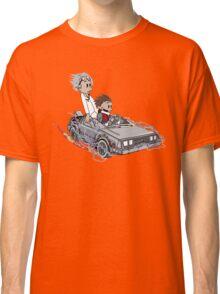 Calvin and Hobbes Back Future Classic T-Shirt