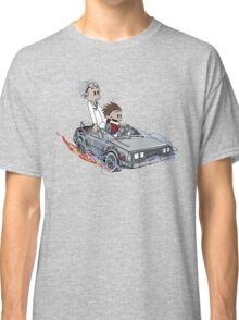 Calvin and Hobbes Back Future Classic T-Shirt