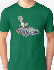 Calvin and Hobbes Back Future Unisex T-Shirt