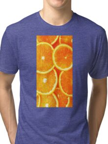 Orange Tri-blend T-Shirt