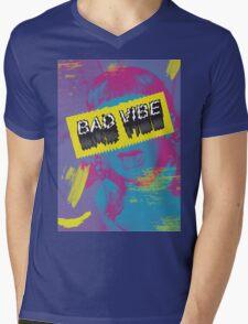BAD Vibe Mens V-Neck T-Shirt