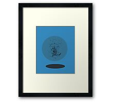 Stuck in a Bubble Framed Print