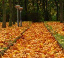 Autumn carpet Sticker