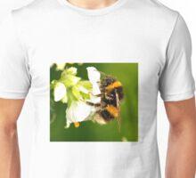 Bee In Peebles Garden Unisex T-Shirt