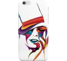 Girls Abstract Cute Face iPhone Case/Skin