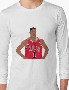 Derrick Rose Long Sleeve T-Shirt