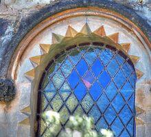 Church Window by Elisabeth Thorn