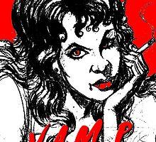 sexy vampire by dgstudio