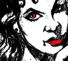 sexy vampire Sticker