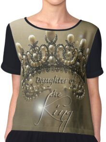 Daughter of the king. Chiffon Top