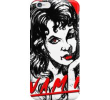 sexy vampire iPhone Case/Skin