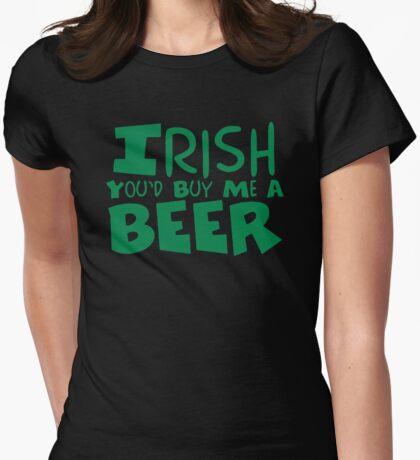 Irish Beer Womens Fitted T-Shirt