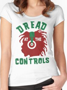 Dread At The Controls Women's Fitted Scoop T-Shirt